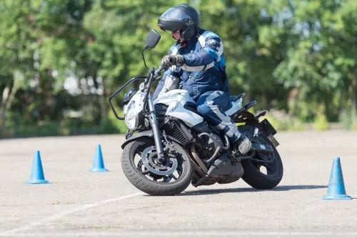 Motorrijbewijspoint Arnhem motor rijtest