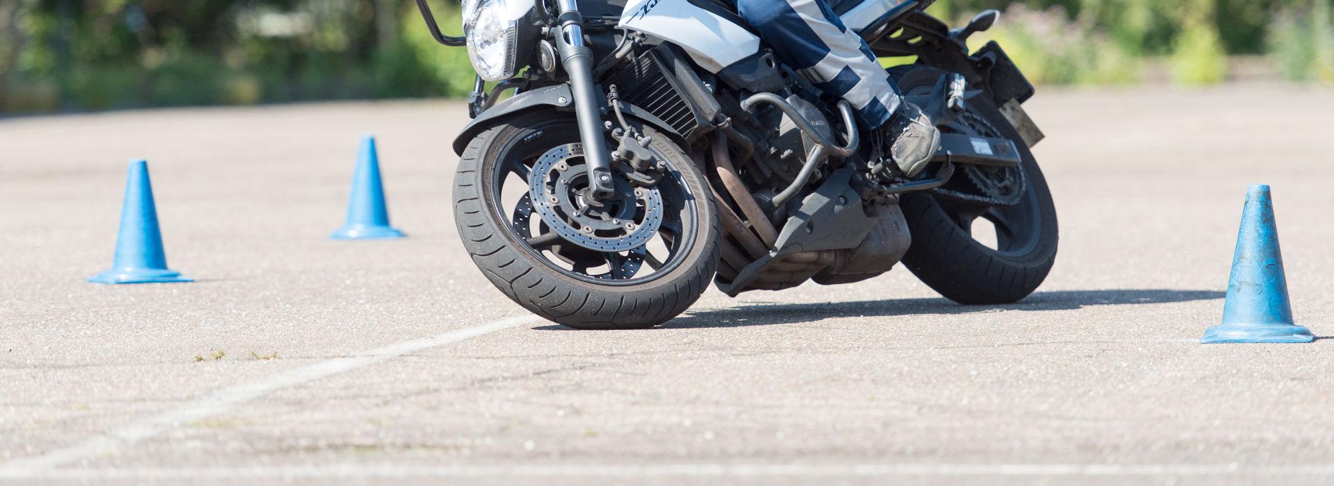 Motorrijbewijspoint Arnhem rijtest